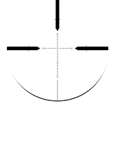 Patented Mil-Quad Reticle