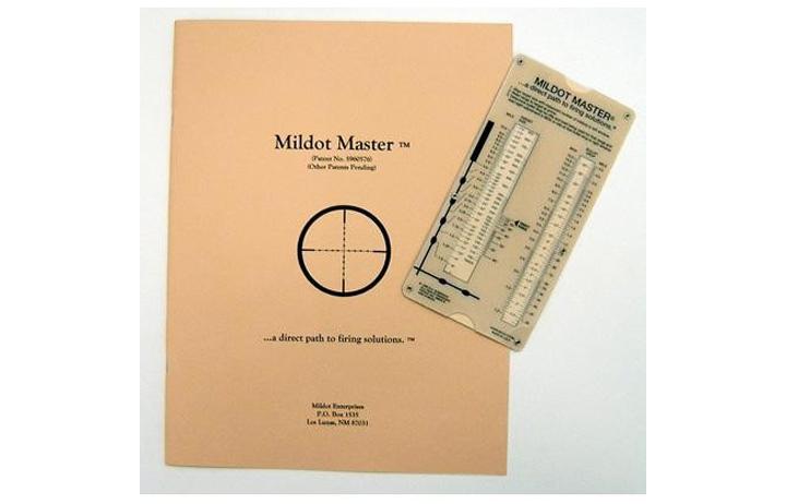 Mil-Dot Master | Slide Rule